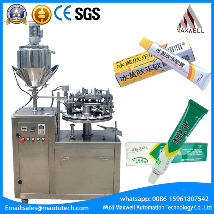 Jgf X Aluminum Tube Filling And Fold Tail Machine Wuxi Maxwell Automation Technology Co Ltd